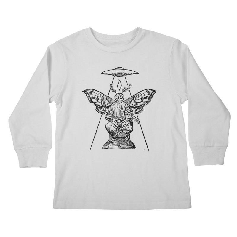 Mothomet! Kids Longsleeve T-Shirt by The Corey Press