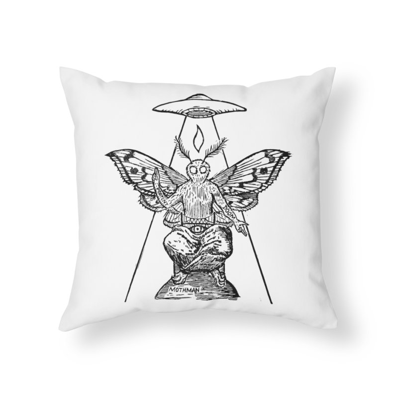 Mothomet! Home Throw Pillow by The Corey Press