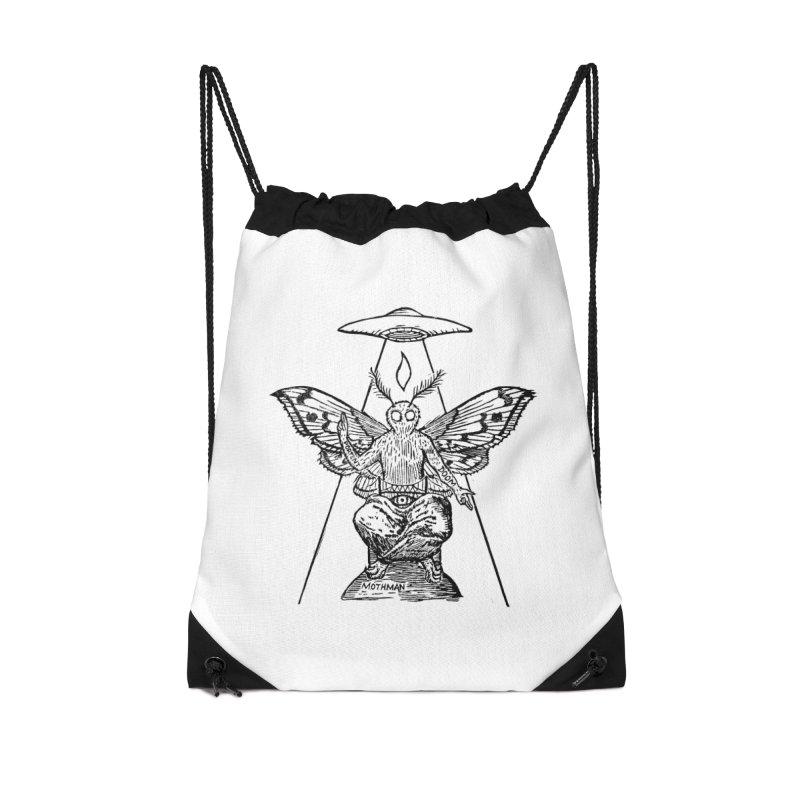 Mothomet! Accessories Drawstring Bag Bag by The Corey Press