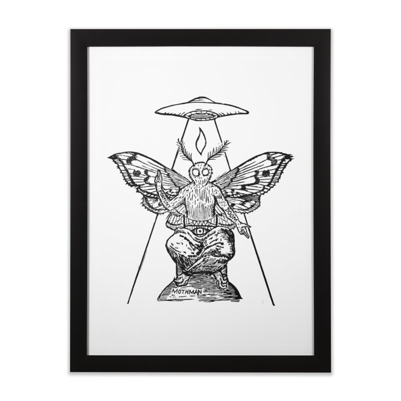 Mothomet! Home Framed Fine Art Print by The Corey Press