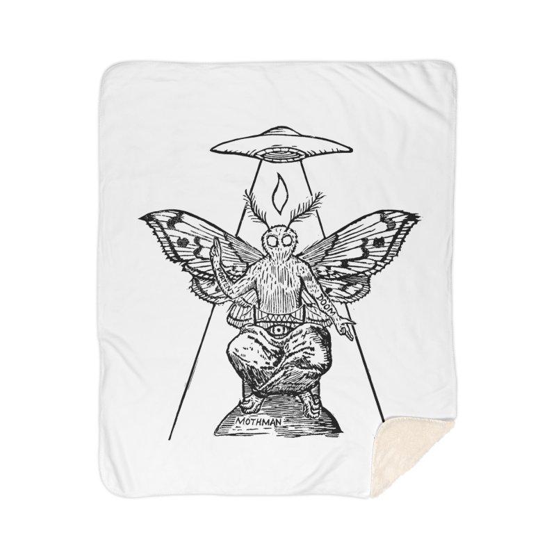 Mothomet! Home Sherpa Blanket Blanket by The Corey Press