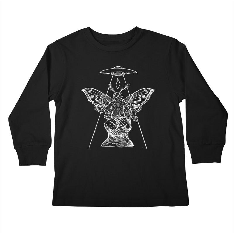 Mothomet!! Kids Longsleeve T-Shirt by The Corey Press