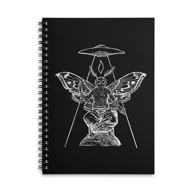 Mothomet!! Accessories Lined Spiral Notebook by The Corey Press