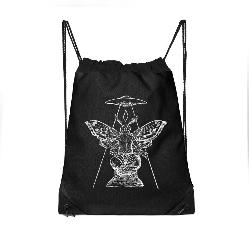 Mothomet!! Accessories Drawstring Bag Bag by The Corey Press
