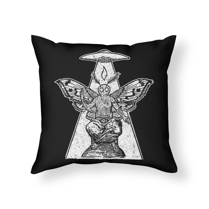 Mothomet!!! Home Throw Pillow by The Corey Press