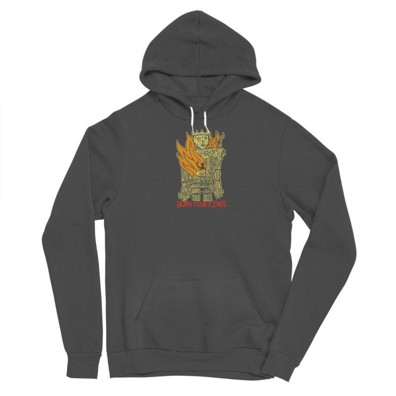 Burn Your Kings Men's Sponge Fleece Pullover Hoody by The Corey Press