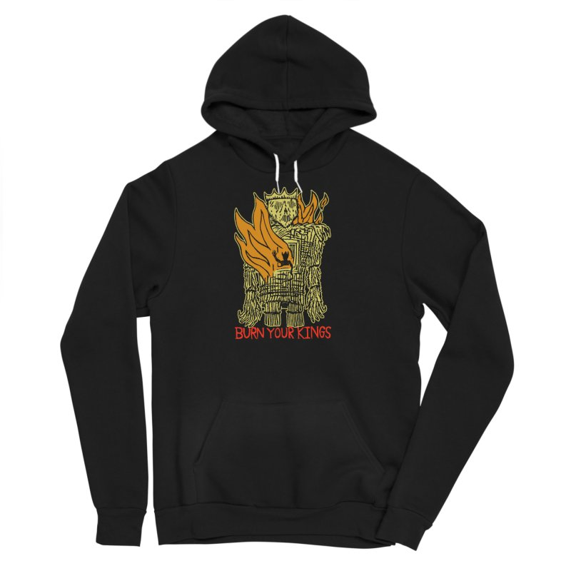 Burn Your Kings Men's Sponge Fleece Pullover Hoody by The Corey Press