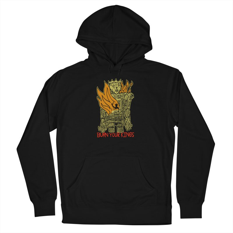 Burn Your Kings Women's French Terry Pullover Hoody by The Corey Press