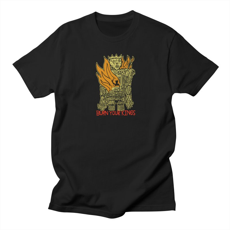 Burn Your Kings Men's T-Shirt by The Corey Press