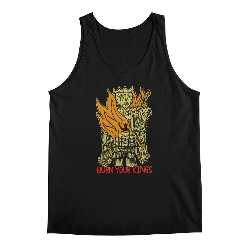 Burn Your Kings Men's Regular Tank by The Corey Press