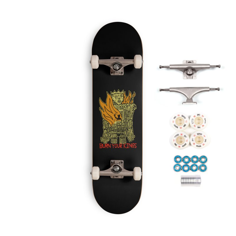 Burn Your Kings Accessories Complete - Premium Skateboard by The Corey Press