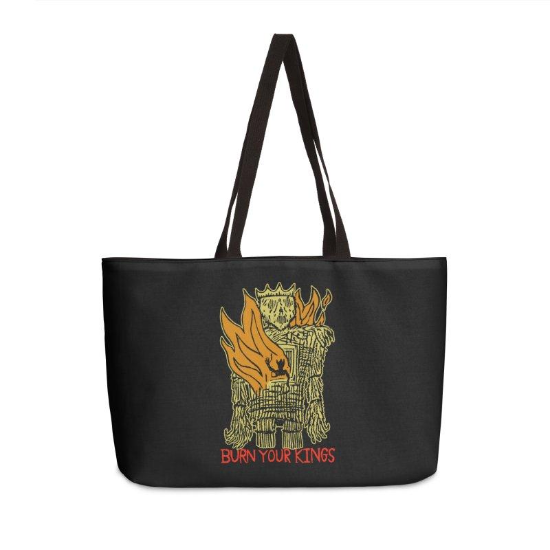 Burn Your Kings Accessories Weekender Bag Bag by The Corey Press