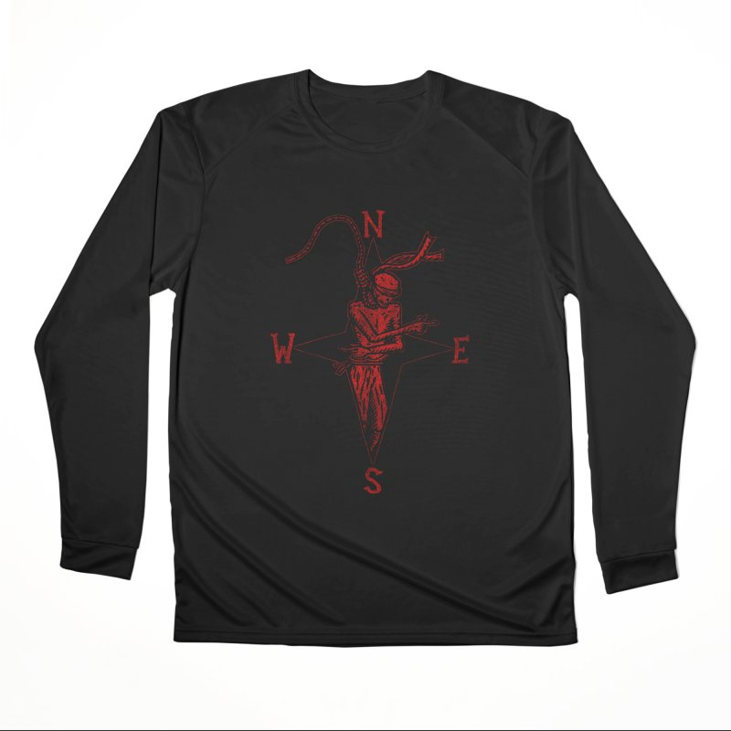Never Lost Men's Performance Longsleeve T-Shirt by The Corey Press