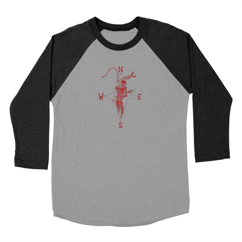 Never Lost Women's Baseball Triblend Longsleeve T-Shirt by The Corey Press