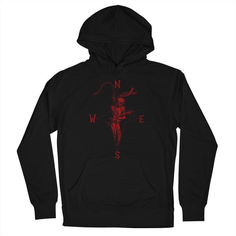 Never Lost Men's French Terry Pullover Hoody by The Corey Press