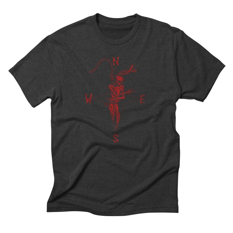 Never Lost Men's Triblend T-Shirt by The Corey Press