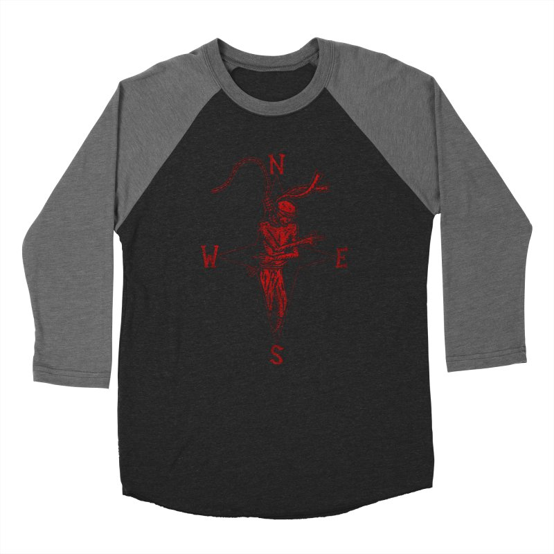 Never Lost Men's Baseball Triblend Longsleeve T-Shirt by The Corey Press