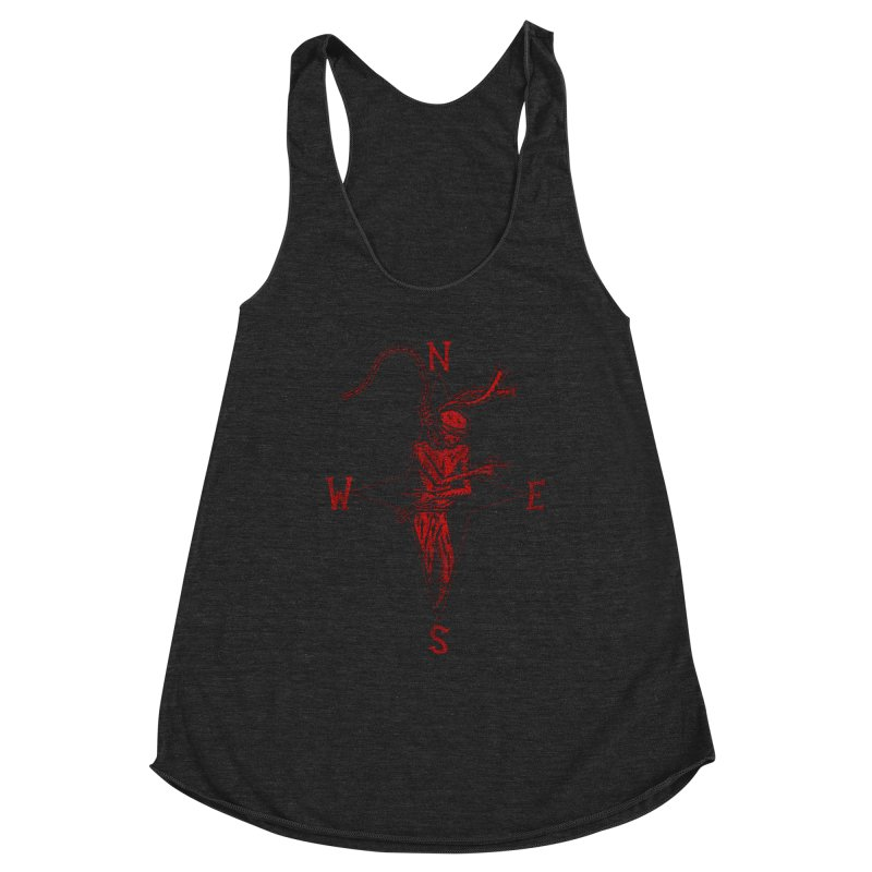 Never Lost Women's Racerback Triblend Tank by The Corey Press