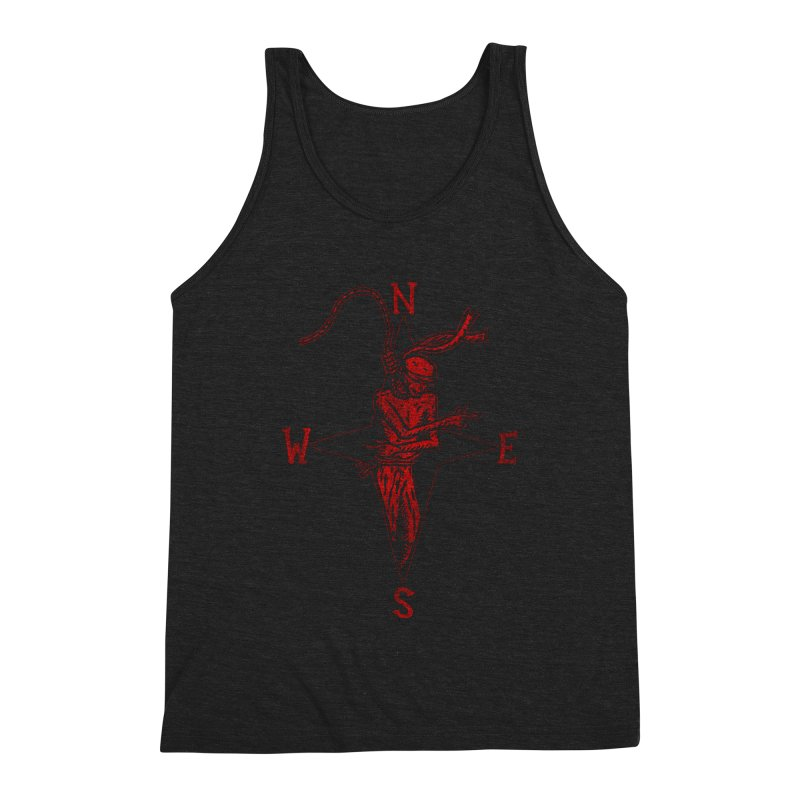 Never Lost Men's Triblend Tank by The Corey Press