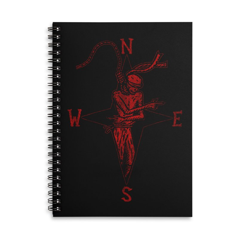 Never Lost Accessories Lined Spiral Notebook by The Corey Press
