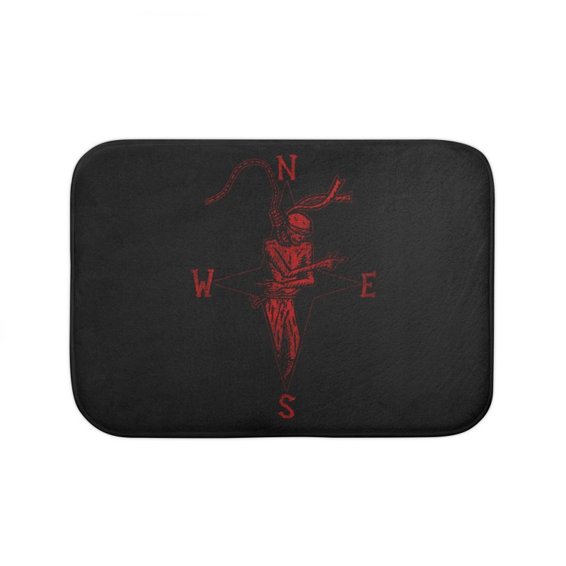 Never Lost Home Bath Mat by The Corey Press