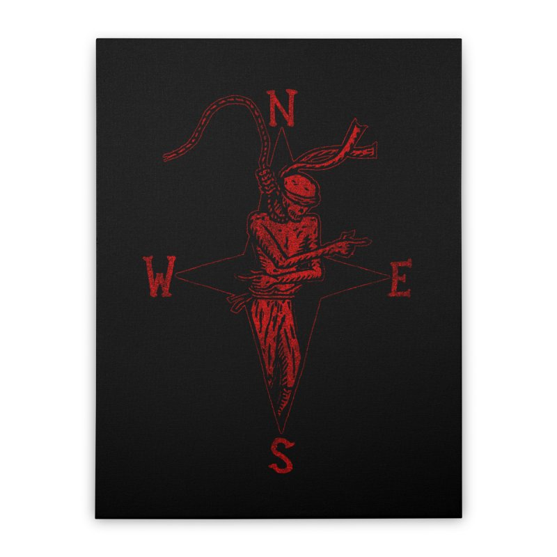 Never Lost Home Stretched Canvas by The Corey Press