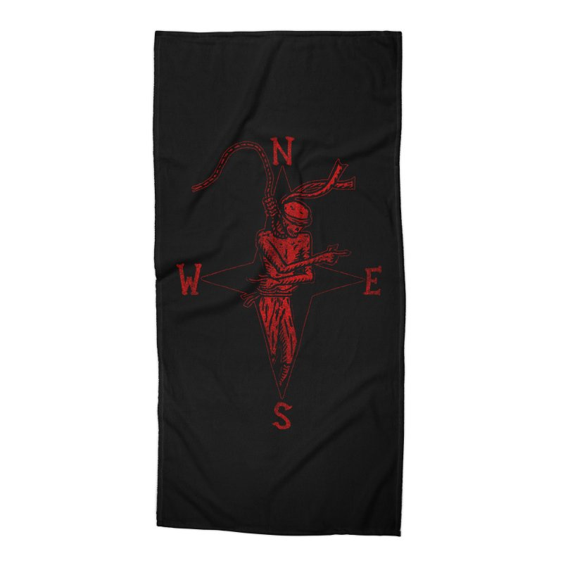 Never Lost Accessories Beach Towel by The Corey Press