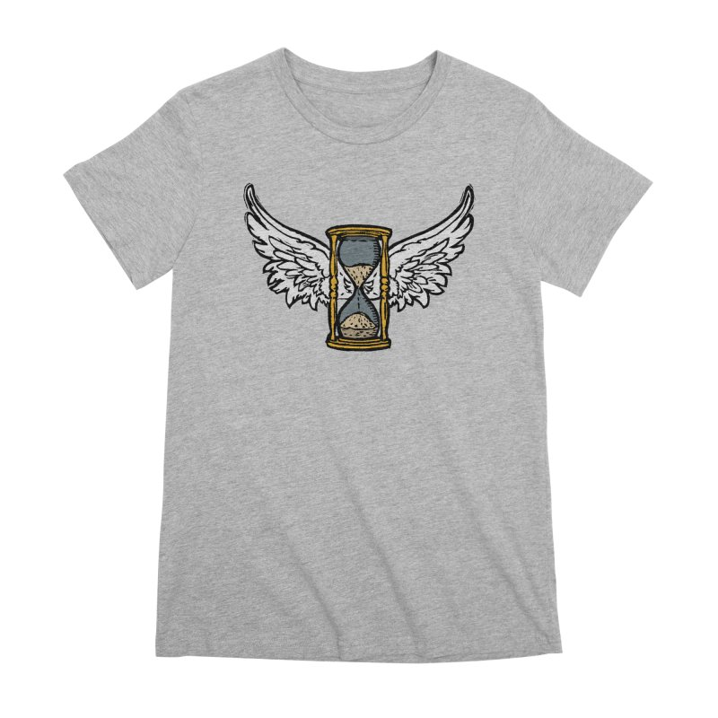 Tempus Fugit Women's Premium T-Shirt by The Corey Press