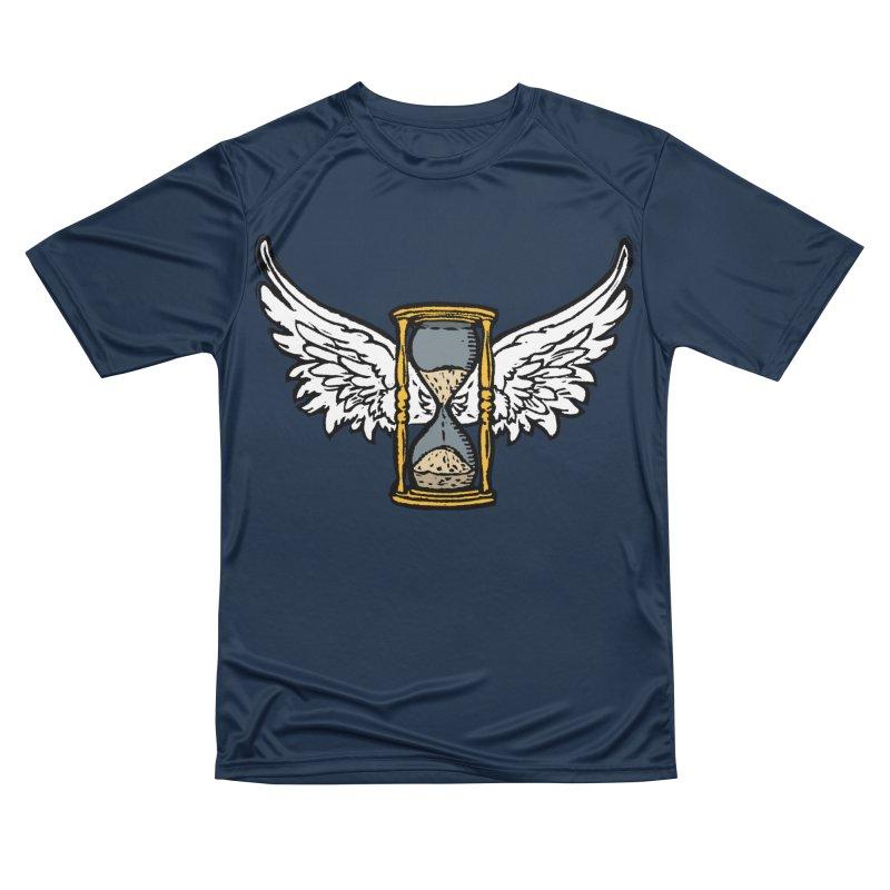 Tempus Fugit Women's Performance Unisex T-Shirt by The Corey Press