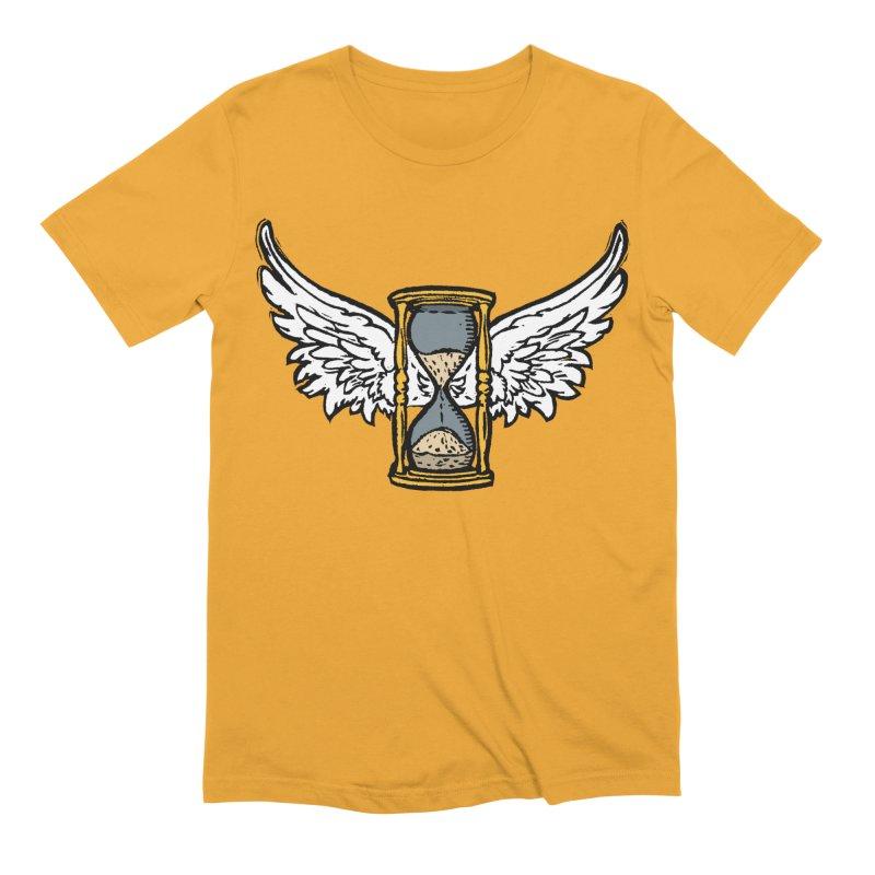 Tempus Fugit Men's Extra Soft T-Shirt by The Corey Press