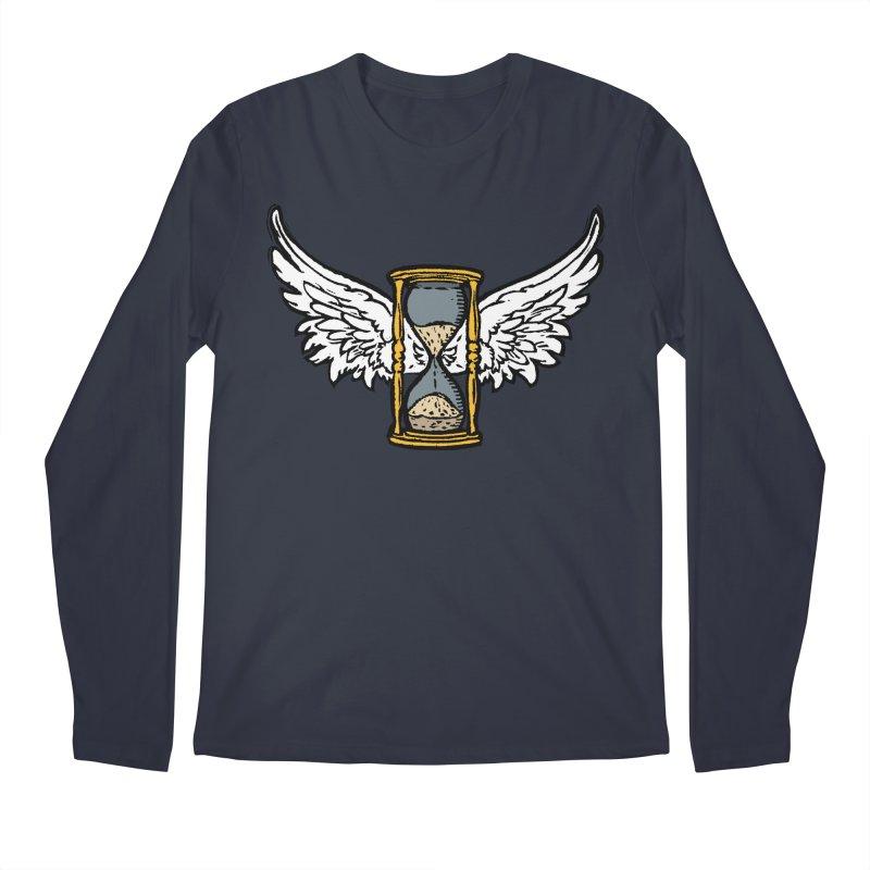Tempus Fugit Men's Regular Longsleeve T-Shirt by The Corey Press