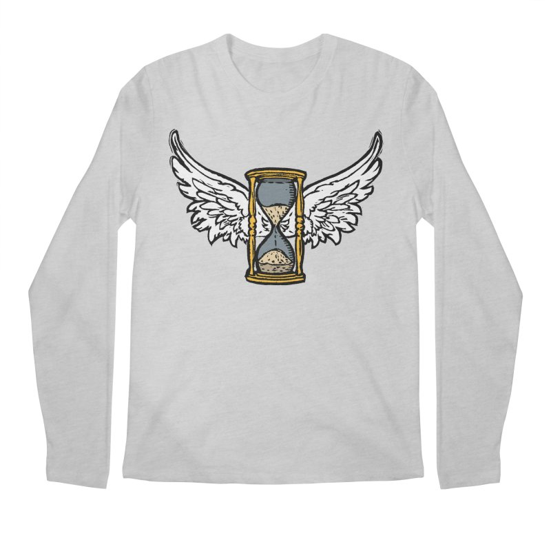 Tempus Fugit Men's Regular Longsleeve T-Shirt by The Corey Press