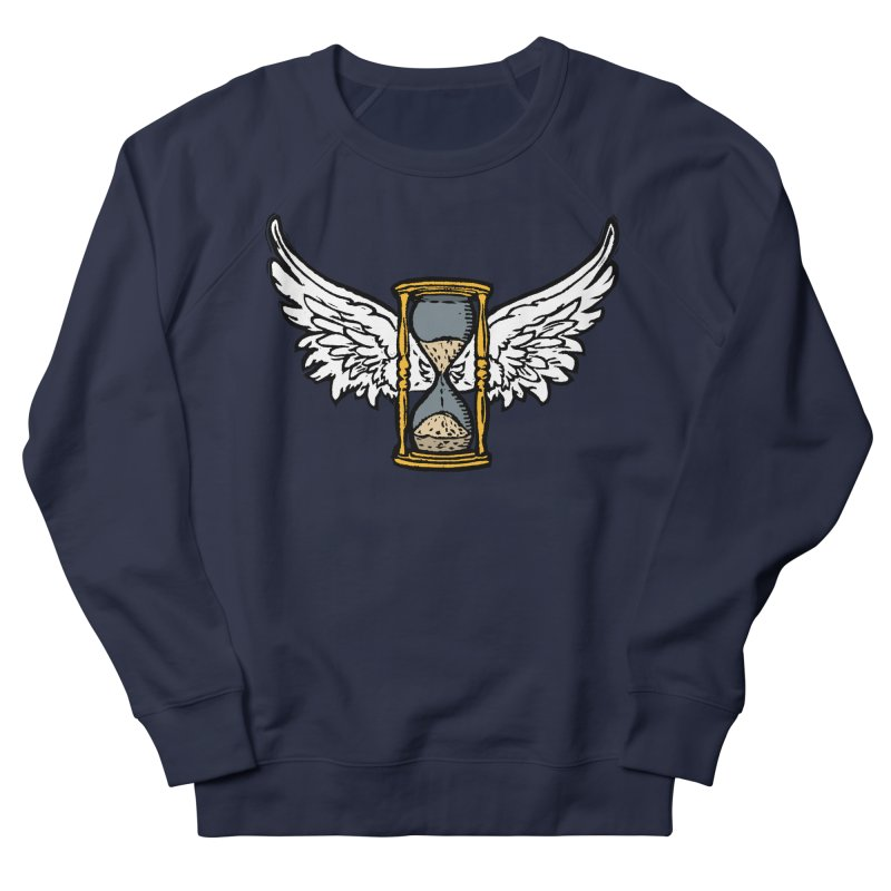 Tempus Fugit Men's French Terry Sweatshirt by The Corey Press