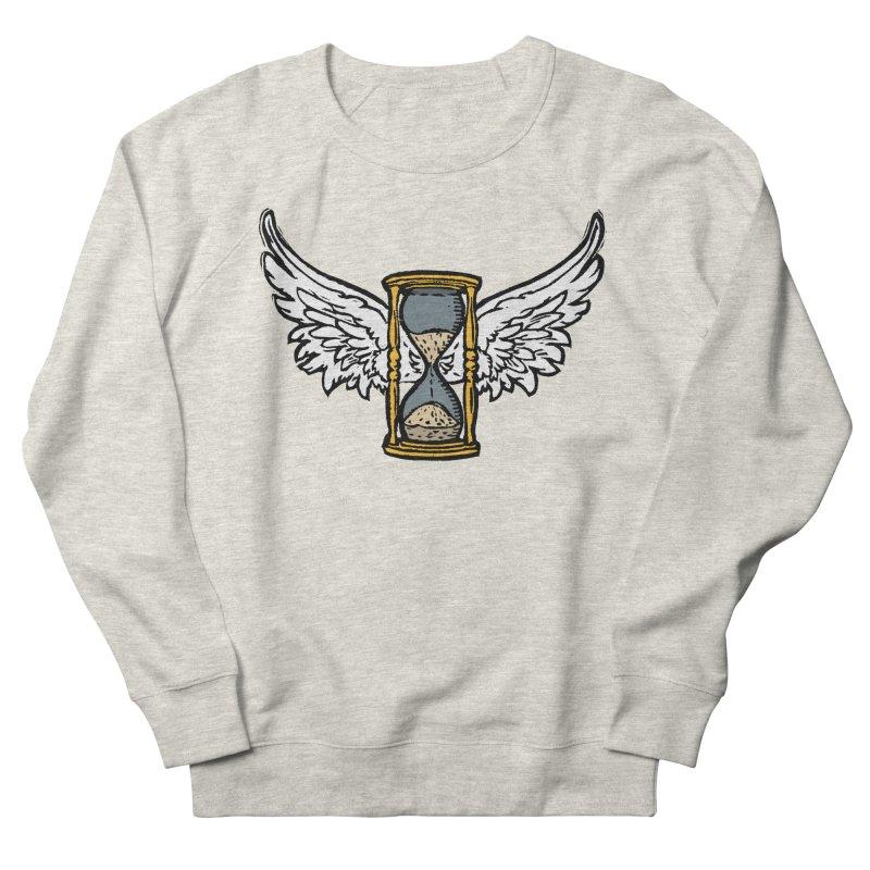 Tempus Fugit Men's French Terry Sweatshirt by The Corey Press