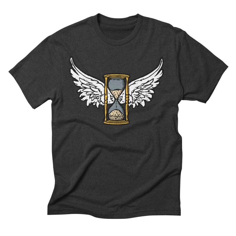 Tempus Fugit Men's Triblend T-Shirt by The Corey Press