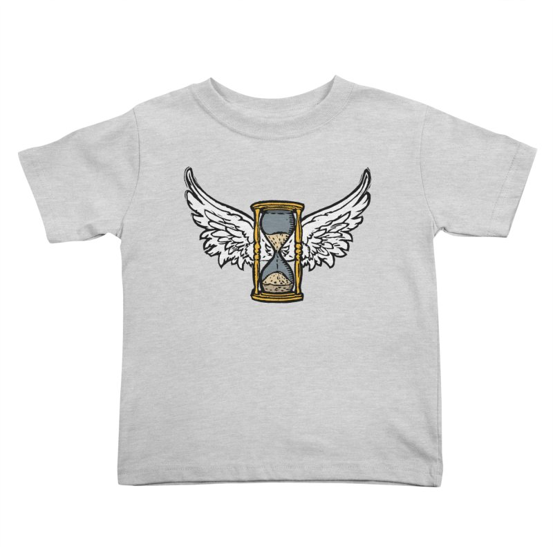 Tempus Fugit Kids Toddler T-Shirt by The Corey Press