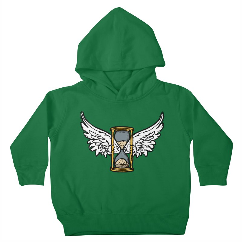 Tempus Fugit Kids Toddler Pullover Hoody by The Corey Press