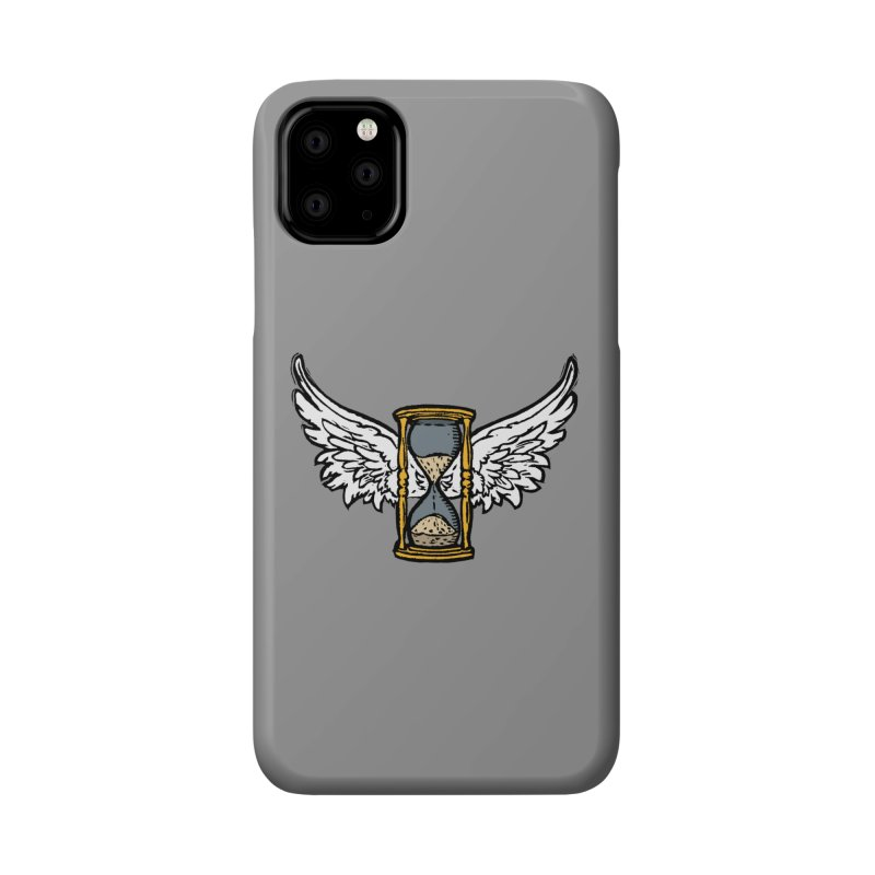 Tempus Fugit Accessories Phone Case by The Corey Press