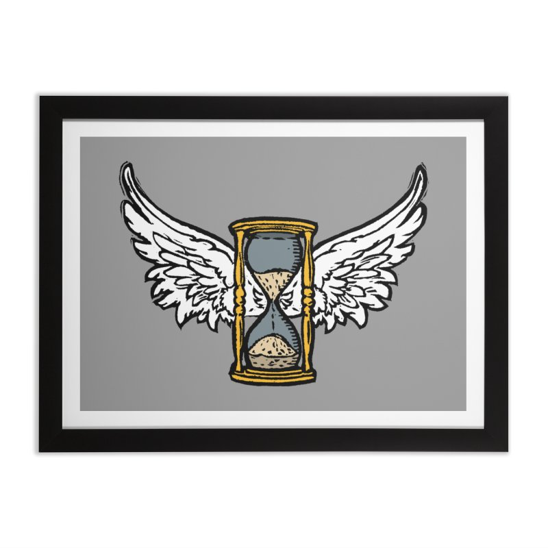 Tempus Fugit Home Framed Fine Art Print by The Corey Press