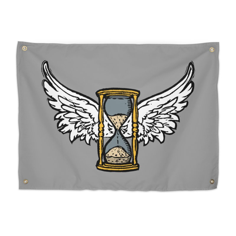 Tempus Fugit Home Tapestry by The Corey Press