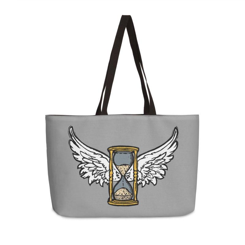 Tempus Fugit Accessories Weekender Bag Bag by The Corey Press