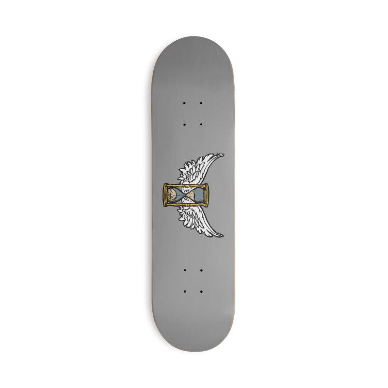 Tempus Fugit Accessories Deck Only Skateboard by The Corey Press