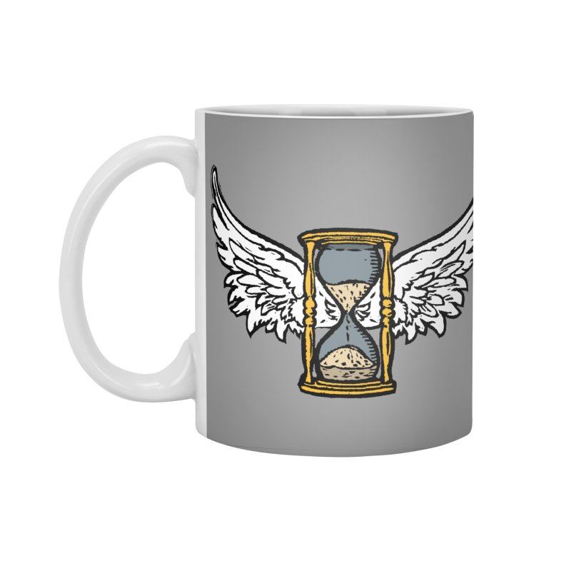 Tempus Fugit Accessories Standard Mug by The Corey Press
