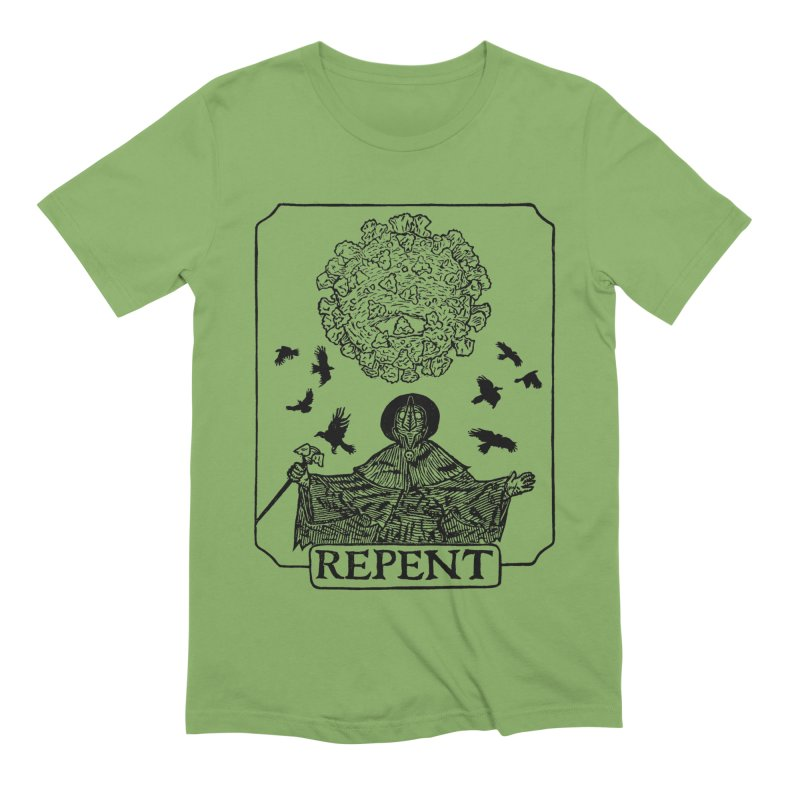 Repent Men's Extra Soft T-Shirt by The Corey Press