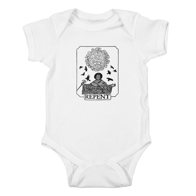 Repent Kids Baby Bodysuit by The Corey Press