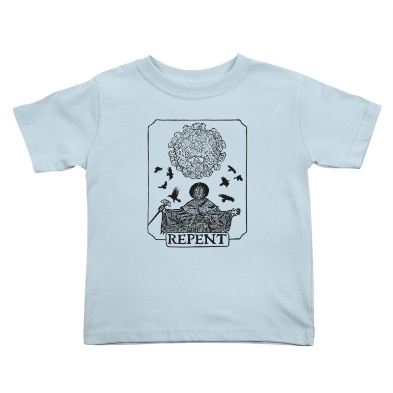 Repent Kids Toddler T-Shirt by The Corey Press