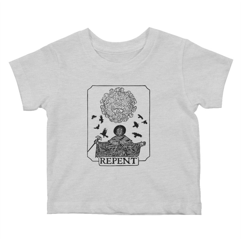 Repent Kids Baby T-Shirt by The Corey Press