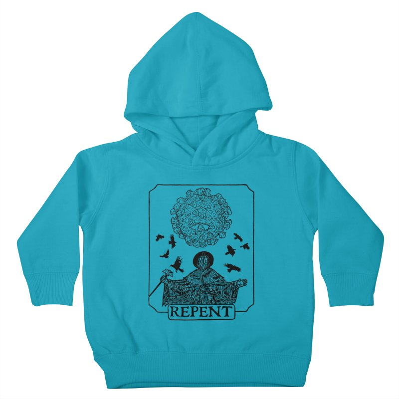 Repent Kids Toddler Pullover Hoody by The Corey Press