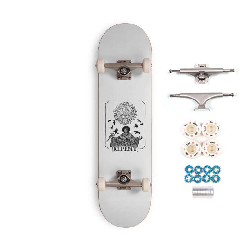 Repent Accessories Complete - Premium Skateboard by The Corey Press