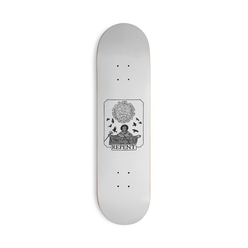 Repent Accessories Deck Only Skateboard by The Corey Press